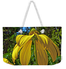 Weekender Tote Bag featuring the photograph Sunshine On My Shoulders by Tikvah's Hope