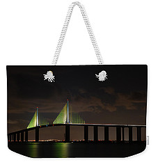 Sunshine Skyway Bridge Weekender Tote Bag