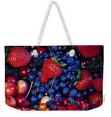 Super Healthy Weekender Tote Bag by Alixandra Mullins