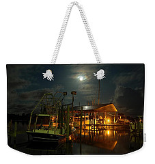 Super Moon At Nelsons Weekender Tote Bag