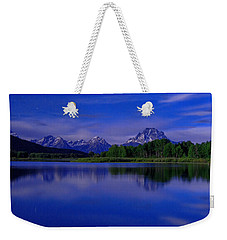 Super Moon Weekender Tote Bag by Chad Dutson