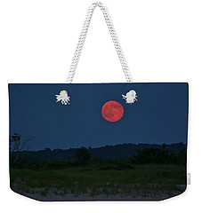Super Moon July 2014 Weekender Tote Bag by Karen Silvestri