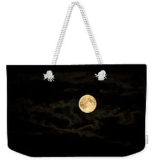 Super Moon Weekender Tote Bag by Spikey Mouse Photography