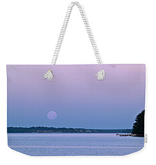 Super Moon Setting-1 Weekender Tote Bag