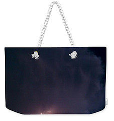 Supercell Moon Weekender Tote Bag by Ed Sweeney