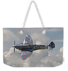 Supermarine Spitfire Weekender Tote Bag by Pat Speirs