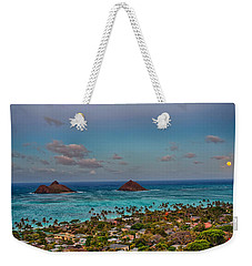 Supermoon Moonrise Weekender Tote Bag by Dan McManus