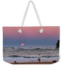 Supermoonrise Weekender Tote Bag