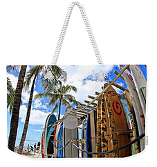 Surf And Sun Waikiki Weekender Tote Bag