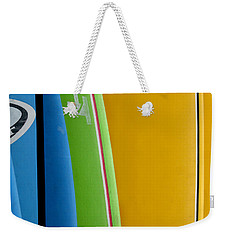 Surf Boards Weekender Tote Bag
