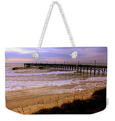 Surf City Pier Weekender Tote Bag
