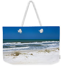 Surf On The Beach, St. Joseph Peninsula Weekender Tote Bag by Panoramic Images