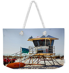 Surf Rescue Weekender Tote Bag by Sennie Pierson