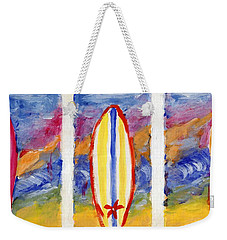 Surfboards 1 Weekender Tote Bag by Jamie Frier