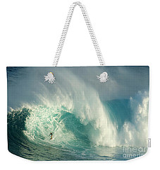 Surfing Jaws 3 Weekender Tote Bag