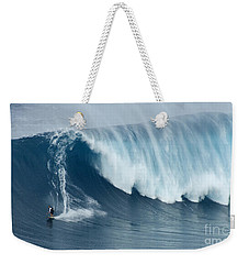 Surfing Jaws 5 Weekender Tote Bag by Bob Christopher
