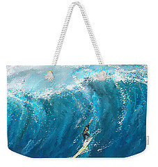 Surf's Up- Surfing Art Weekender Tote Bag