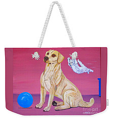 Surprise Weekender Tote Bag by Phyllis Kaltenbach