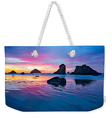 Surprise Sunset Weekender Tote Bag by Patricia Davidson