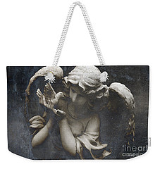 Ethereal Guardian Angel With Dove Of Peace Weekender Tote Bag