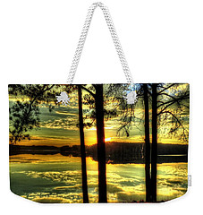 Surreal Lake Weekender Tote Bag