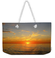 Surreal Sunrise At Sea Weekender Tote Bag