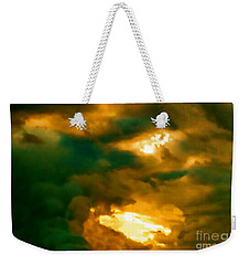 Surreal Sunset Weekender Tote Bag by Anita Lewis