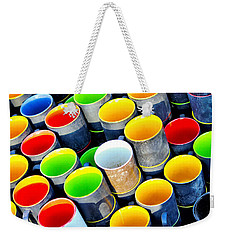 Surrounded By Greed Weekender Tote Bag