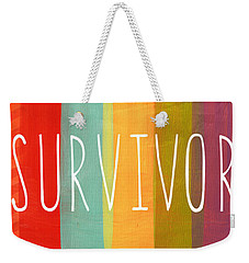Survivor Weekender Tote Bag