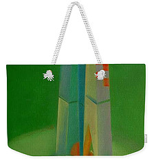Weekender Tote Bag featuring the painting Survivors by Charles Stuart