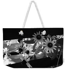 Susans In Black And White Weekender Tote Bag by Ellen Tully