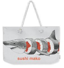 Sushi Mako Weekender Tote Bag