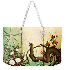 Sunshine In The Garden Weekender Tote Bag by Sorin Apostolescu