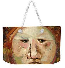 Suspicious Moonface Weekender Tote Bag
