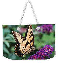 Swallowtail Butterfly 1 Weekender Tote Bag by Sue Melvin