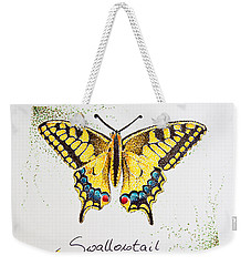 Swallowtail - Butterfly Weekender Tote Bag