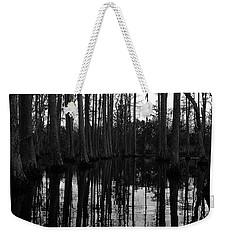 Swamp Boat Weekender Tote Bag