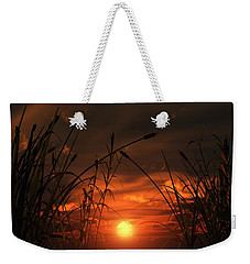 Swamp Sunset  Weekender Tote Bag by Tim Fillingim