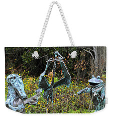 Swampland Critter Band 1 Weekender Tote Bag by Al Powell Photography USA