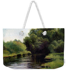 Swan Creek Weekender Tote Bag by Janet King