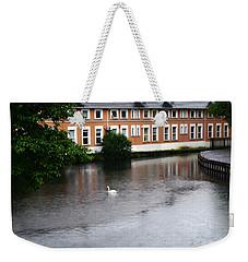Swan In Dublin Weekender Tote Bag