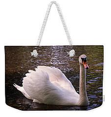 Swan Pose Weekender Tote Bag