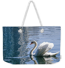 Swan Weekender Tote Bag by Steven Sparks