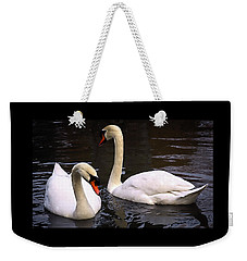Swan Two Weekender Tote Bag