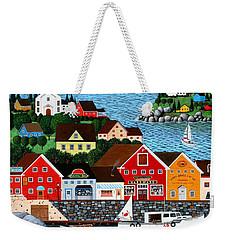 Swan's Cove Weekender Tote Bag