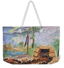 Sweat Lodge Weekender Tote Bag