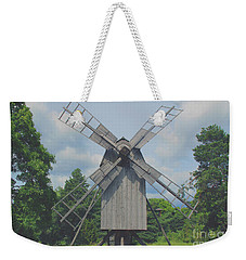 Weekender Tote Bag featuring the photograph Swedish Old Mill by Sergey Lukashin