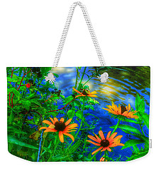 Sweet And Daisy Weekender Tote Bag