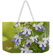 Sweet Butterfly Flowers Weekender Tote Bag