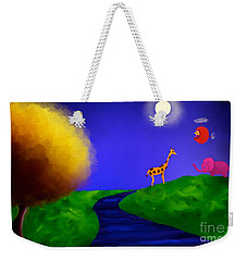 Sweet Dreams Weekender Tote Bag by Anita Lewis